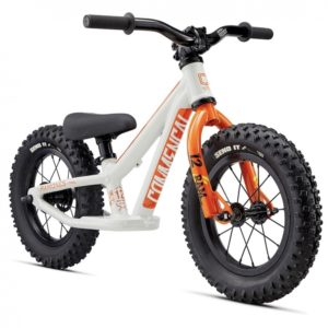 Draisienne Commencal Ramones 12' Orange - face