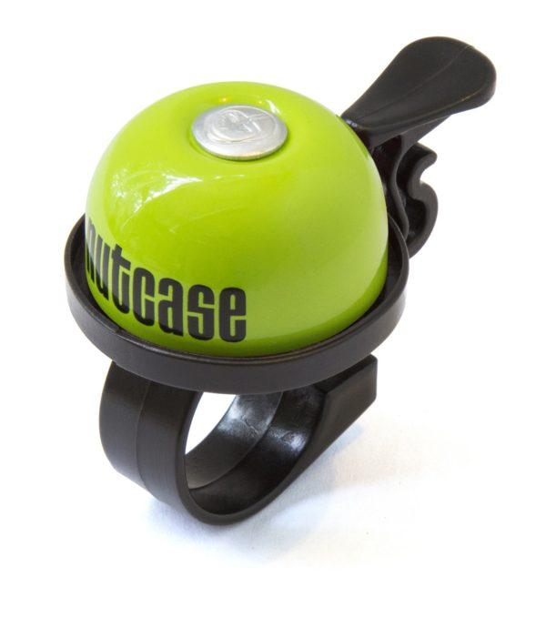 Sonnette Nutcase Thumbdinger Vert pomme
