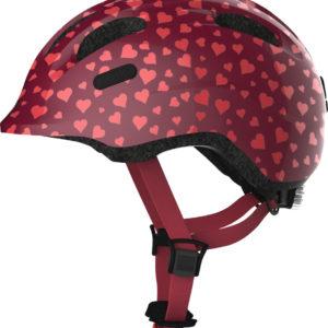 ABUS Smiley Cherry Heart - Casque vélo bébé enfant