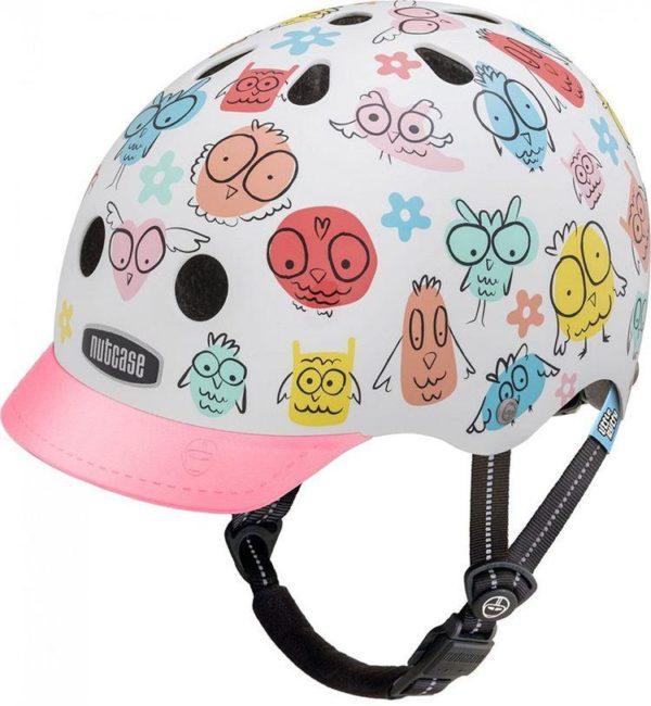 Little Nutty Owl Party - Casque vélo enfant - Tête à Casque