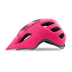 Giro Tremor Bright Pink - Casque VTT enfant - Tête à Casque - Côté