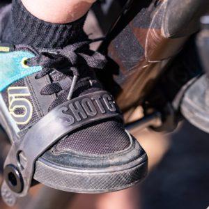Selle VTT enfant Shotgun - cale-pieds