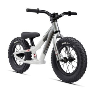 Draisienne Commencal Ramones 12' chrome 2021 - face
