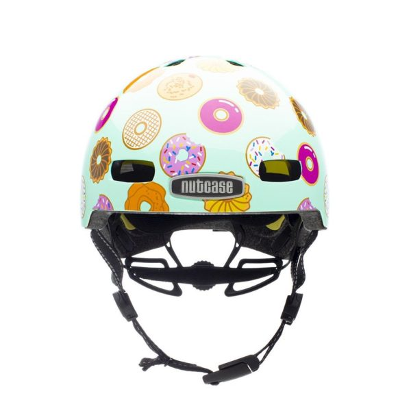 Casque vélo enfant Little Nutty Doh - Front