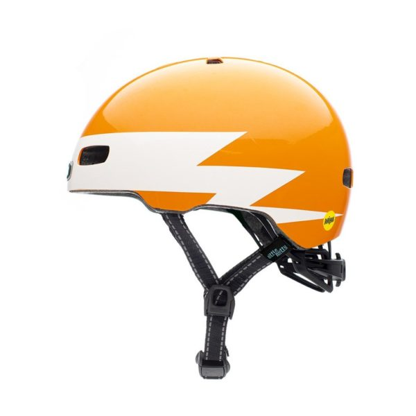 Casque vélo enfant Little Nutty Lightnin' Gloss - Side