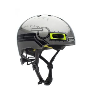 Casque vélo enfant Little Nutty Robo Boy
