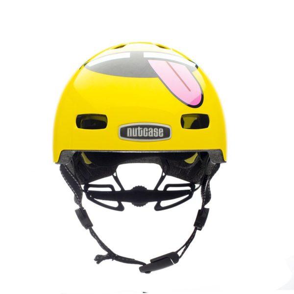 Casque vélo enfant Little Nutty Tongues Out - Front