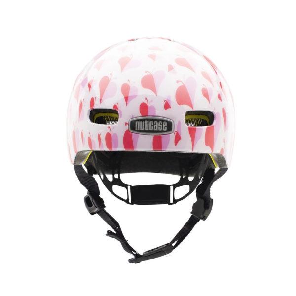 Casque vélo bébé Baby Nutty Love Bug - face