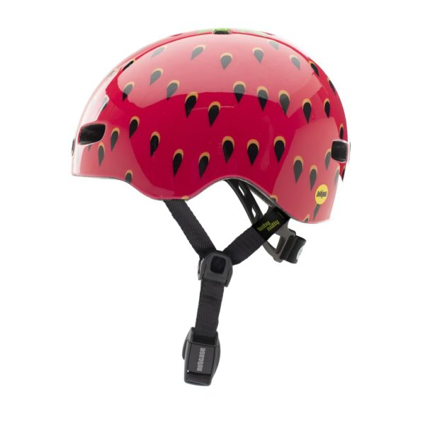 Casque vélo bébé Baby Nutty Very Berry - side