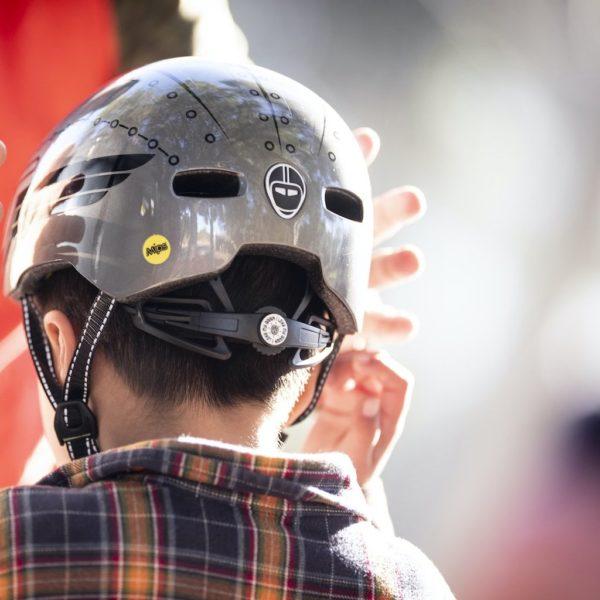 Casque vélo enfant Little Nutty Robo Boy - Child