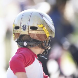 Casque vélo enfant Little Nutty Vikki King - Child