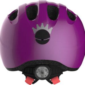 Abus Smiley 2.1 Sparkling Plum - Casque vélo bébé - Tête à Casque - Dos