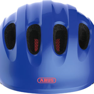 Abus Smiley 2.1 Sparkling Blue - Casque vélo bébé - Tête à Casque - Face