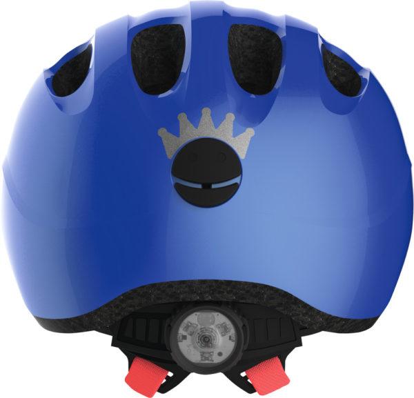 Abus Smiley 2.1 Sparkling Blue - Casque vélo bébé - Tête à Casque - Back
