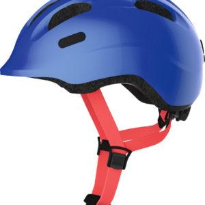 Abus Smiley 2.1 Sparkling Blue - Casque vélo bébé - Tête à Casque