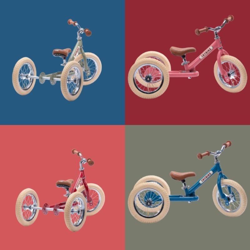 Draisienne design rétro Trybike