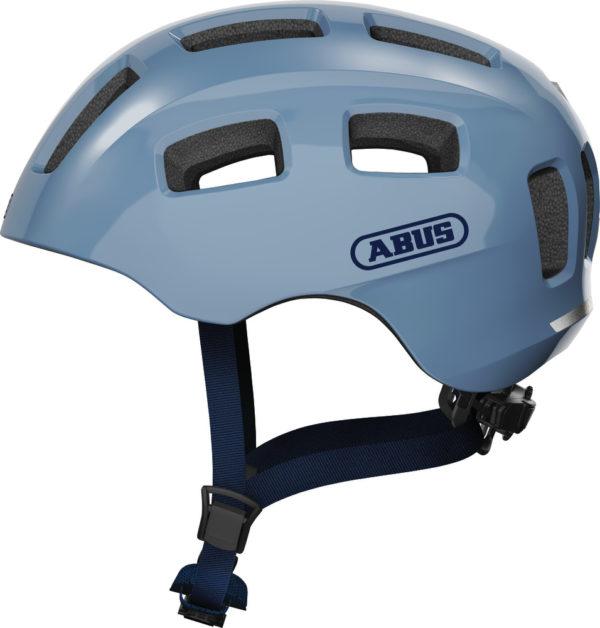 ABUS Youn-I 2.0 Glacier Blue - casque vélo enfant - Tête à Casque