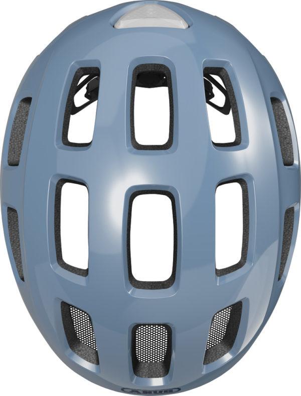 ABUS Youn-I 2.0 Glacier Blue - casque vélo enfant - Tête à Casque - Top