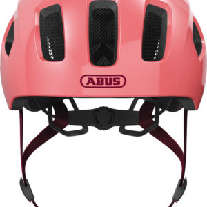 ABUS Youn-I 2.0 Living Coral - casque vélo enfant - Tête à Casque - Face