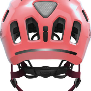 ABUS Youn-I 2.0 Living Coral - casque vélo enfant - Tête à Casque - Back