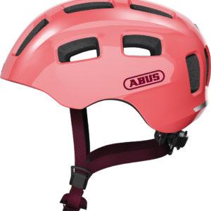 ABUS Youn-I 2.0 Living Coral - casque vélo enfant - Tête à Casque