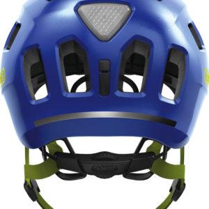 ABUS Youn-I 2.0 Sparkling Blue - casque vélo enfant - Tête à Casque - Back