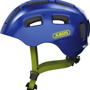 ABUS Youn-I 2.0 Sparkling Blue - casque vélo enfant - Tête à Casque