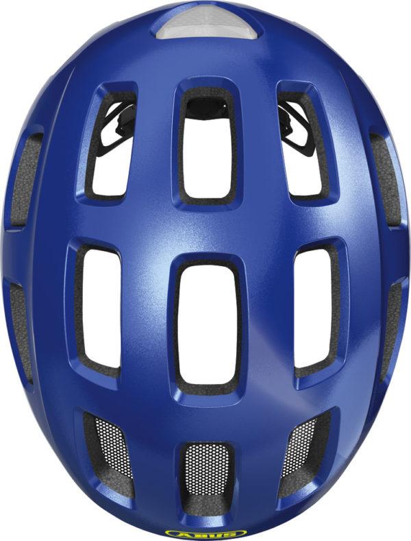 ABUS Youn-I 2.0 Sparkling Blue - casque vélo enfant - Tête à Casque - Top