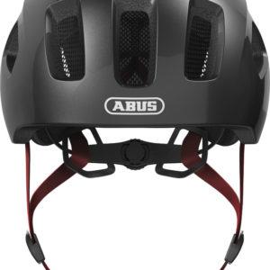 ABUS Youn-I 2.0 Sparkling Titan - casque vélo enfant - Tête à Casque - Face