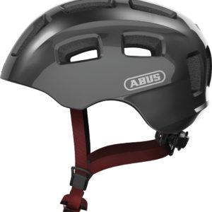 ABUS Youn-I 2.0 Sparkling Titan - casque vélo enfant - Tête à Casque