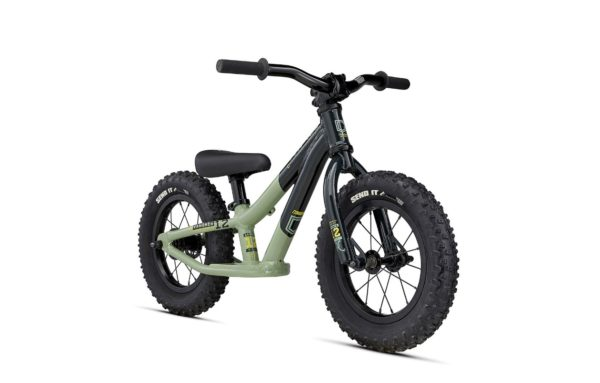 Draisienne Commencal Ramones 12' Green 2021 - face