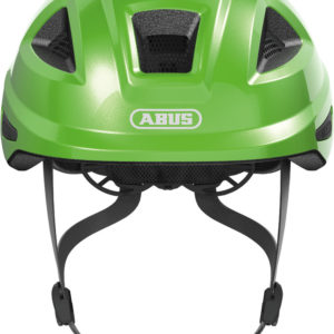 Abus Anuky 2.0 Sparkling Green - Casque vélo bébé - Tête à Casque - Face