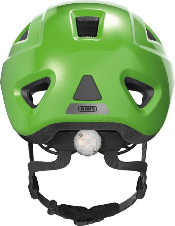 Abus Anuky 2.0 Sparkling Green - Casque vélo bébé - Tête à Casque - Back