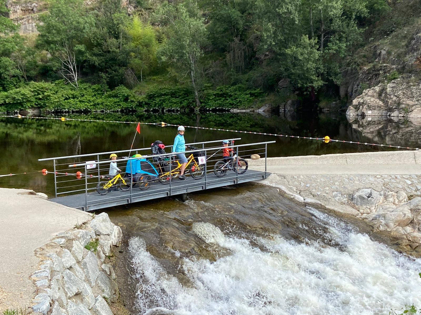 Dolce Via en famille à vélo - Le cheylard